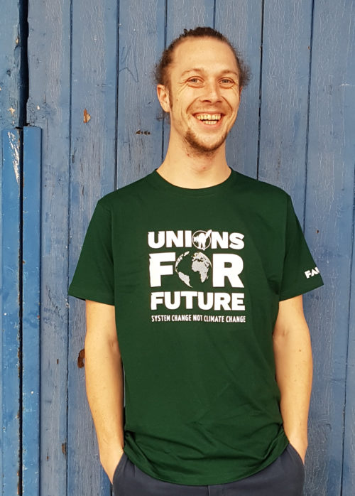 Unions For Future - System change Not climate change- FAU - Grün